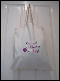 Knit & Natter Bag